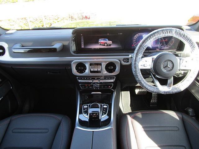 メルセデスベンツG350d AMGライン アダブティブダンピングシステム2