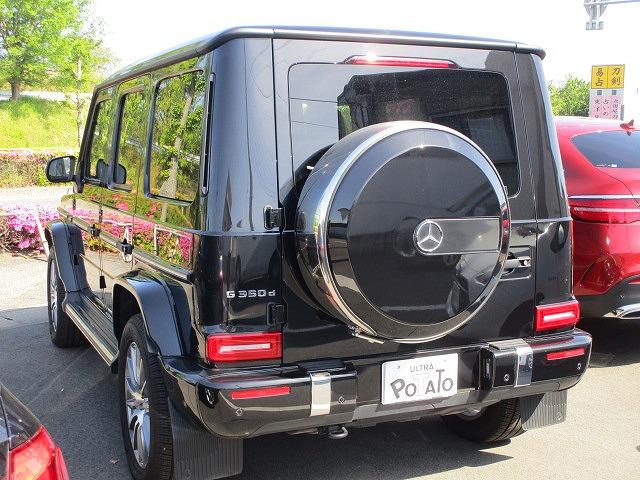 メルセデスベンツG350d AMGライン アダブティブダンピングシステム1